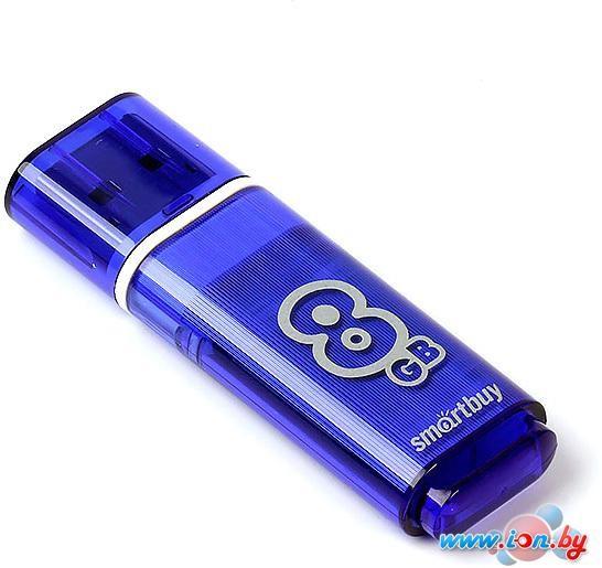 USB Flash Smart Buy Dark Blue 8GB [SB8GBGS-DB] в Могилёве