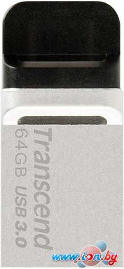 USB Flash Transcend JetFlash 880 64GB (TS64GJF880S) в Могилёве