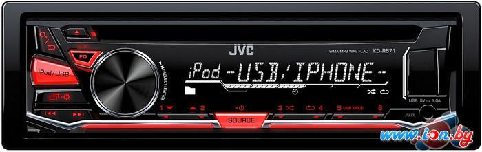 CD/MP3-магнитола JVC KD-R671 в Могилёве