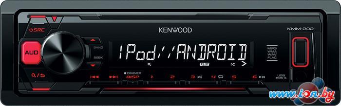 USB-магнитола Kenwood KMM-202 в Могилёве