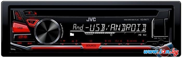 CD/MP3-магнитола JVC KD-R471E в Могилёве
