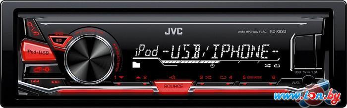 USB-магнитола JVC KD-X230 в Могилёве