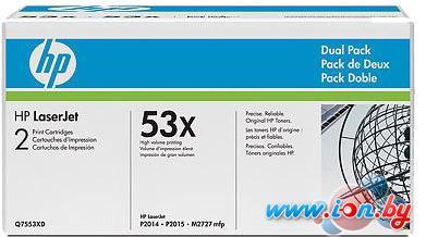 Картридж для принтера HP 53x (Q7553XD) 2 шт. в Могилёве