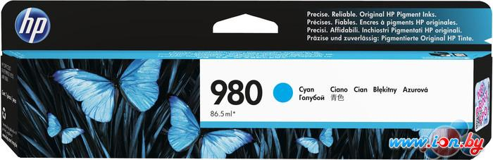 Картридж для принтера HP 980 Cyan Original Ink Cartridge (D8J07A) в Могилёве