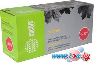Картридж для принтера CACTUS CS-C718Y в Могилёве