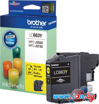 Картридж для принтера Brother LC663Y в Могилёве