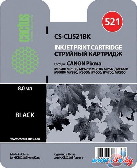 Картридж для принтера CACTUS CS-CLI521BK в Могилёве