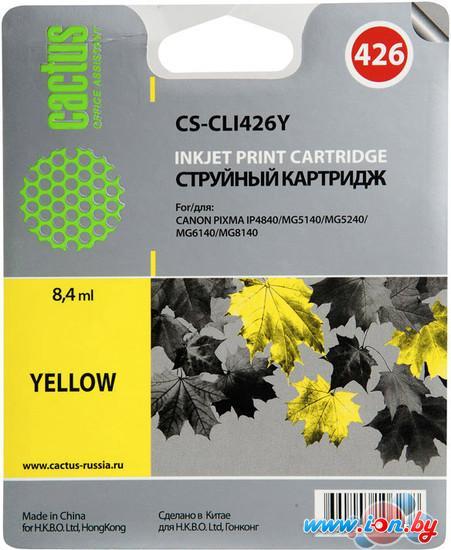 Картридж для принтера CACTUS CS-CLI426Y в Могилёве