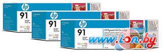 Картридж для принтера HP 91 (C9482A) 3 шт в Могилёве