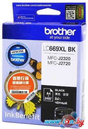 Картридж для принтера Brother LC669XLBK в Могилёве