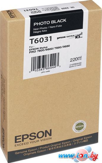 Картридж для принтера Epson C13T603100 в Могилёве