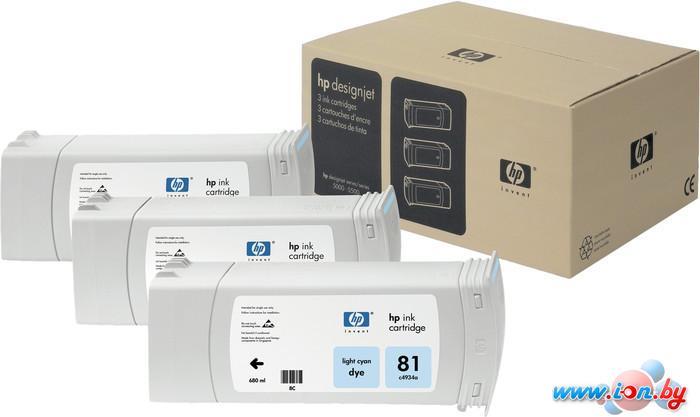 Картридж для принтера HP 81 (C5070A) 3 шт в Могилёве
