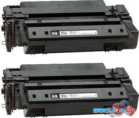 Картридж для принтера HP 51x (Q7551XD) 2 шт. в Могилёве