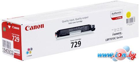 Картридж для принтера Canon 729Y в Могилёве
