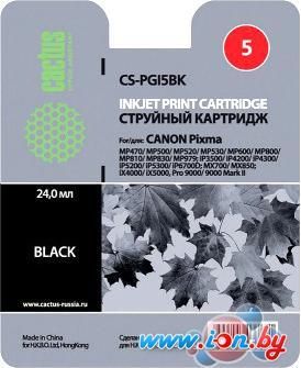 Картридж для принтера CACTUS CS-PGI5BK в Могилёве