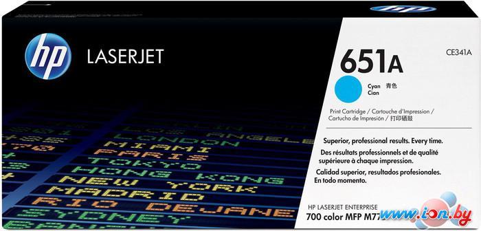 Картридж для принтера HP LaserJet 651A (CE341A) в Могилёве