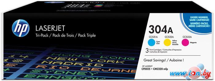 Картридж для принтера HP 304A 3-pack (CF372AM) в Могилёве