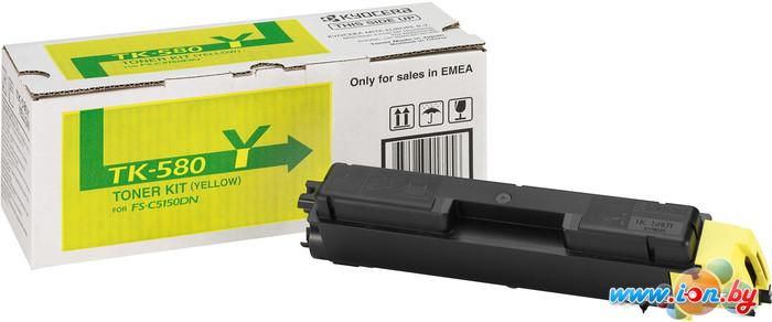 Картридж для принтера Kyocera TK-580Y в Могилёве
