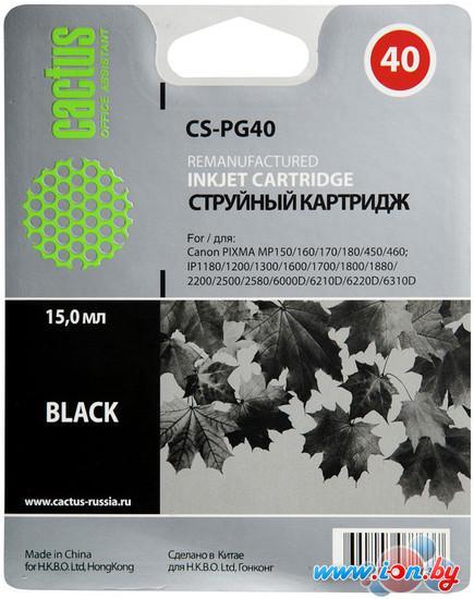 Картридж для принтера CACTUS CS-PG40 в Могилёве