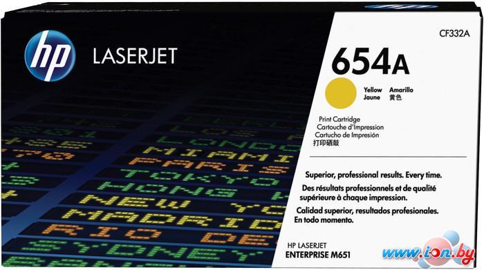 Картридж для принтера HP 654A (CF332A) в Могилёве