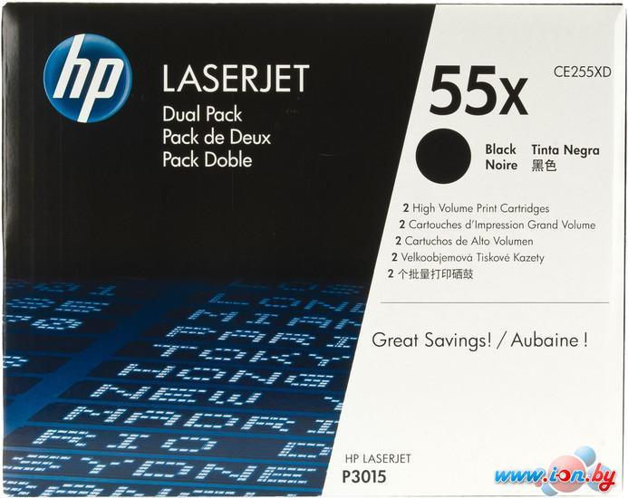 Картридж для принтера HP LaserJet 55X (CE255XD) в Могилёве