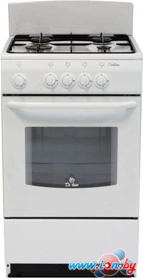Кухонная плита De luxe 5040.38Г (Щ) (белый) в Могилёве