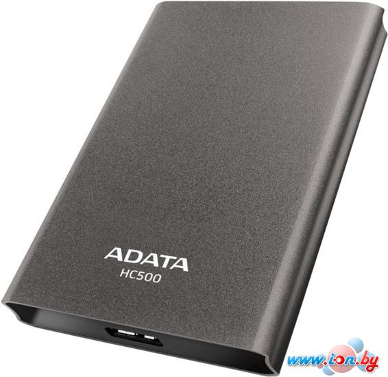 Внешний жесткий диск A-Data HC500 2TB Titanium (AHC500-2TU3-CTI) в Могилёве