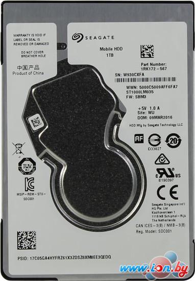 Жесткий диск Seagate Mobile HDD 1TB [ST1000LM035] в Могилёве