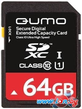 Карта памяти QUMO SDXC UHS-I U1 Class 10 64GB (QM64GSDXC10U1) в Могилёве