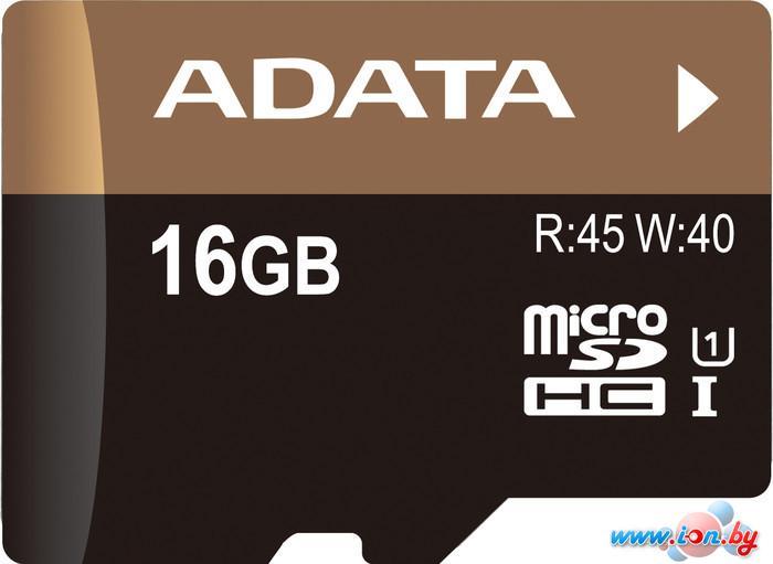 Карта памяти A-Data Premier Pro microSDHC UHS-I U1 16GB (AUSDH16GUI1-RA1) в Могилёве
