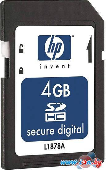 Карта памяти HP SDHC (Class 6) 4GB [580387-B21] в Могилёве
