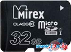 Карта памяти Mirex microSDHC UHS-I (Class 10) 32GB [13612-MCSUHS32] в Могилёве