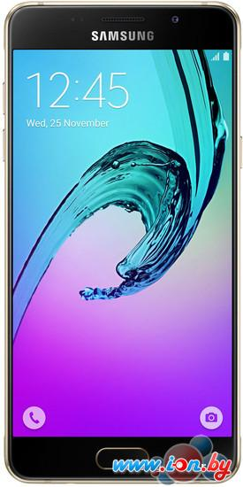 Смартфон Samsung Galaxy A5 (2016) Gold [A510F/DS] в Могилёве