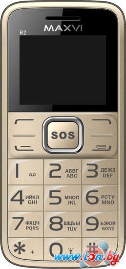 Мобильный телефон Maxvi B2 Gold в Могилёве
