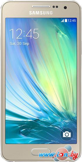 Смартфон Samsung Galaxy A3 Champagne Gold [A300F/DS] в Могилёве