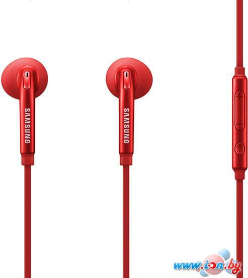 Наушники с микрофоном Samsung EO-EG920L (красный) [EO-EG920LREGRU] в Могилёве