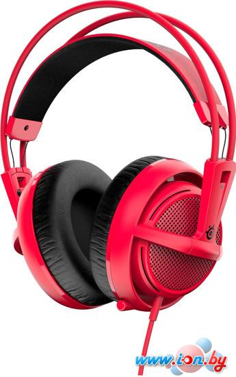 Наушники с микрофоном SteelSeries Siberia 200 Forget Red в Могилёве