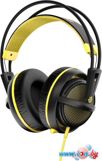 Наушники с микрофоном SteelSeries Siberia 200 Proton Yellow в Могилёве
