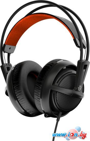 Наушники с микрофоном SteelSeries Siberia 200 Black в Могилёве