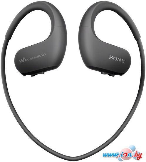 Наушники с плеером Sony NW-WS413 4GB (черный) в Могилёве