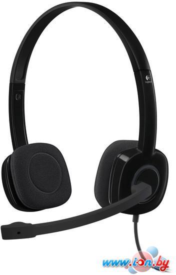 Наушники с микрофоном Logitech Stereo Headset H151 [981-000589] в Могилёве