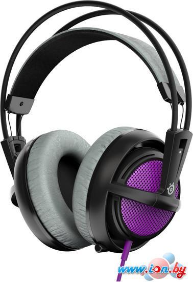 Наушники с микрофоном SteelSeries Siberia 200 Sakura Purple в Могилёве