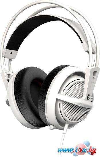 Наушники с микрофоном SteelSeries Siberia 200 White в Могилёве