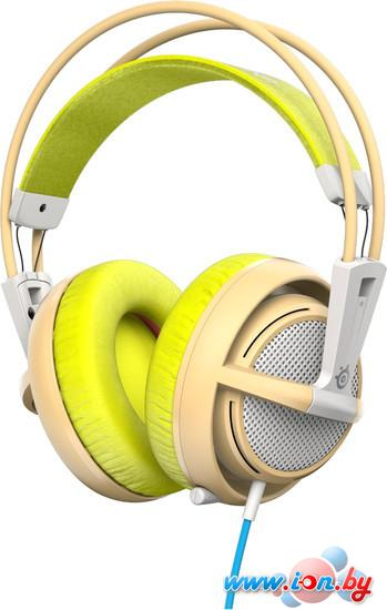 Наушники с микрофоном SteelSeries Siberia 200 Gaia Green в Могилёве