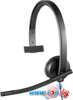 Наушники с микрофоном Logitech USB Headset Mono H570e в Могилёве