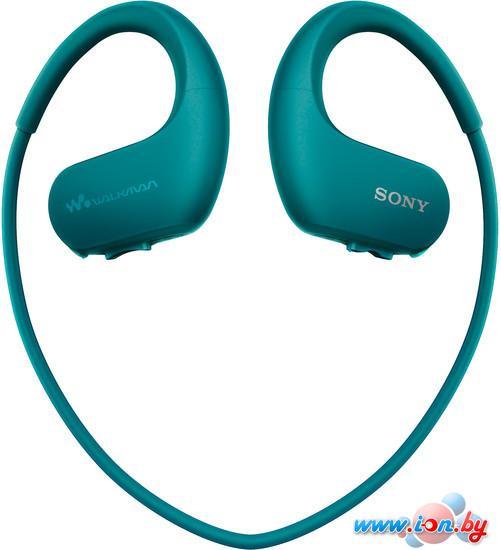 Наушники с плеером Sony NW-WS413 4GB (голубой) в Могилёве
