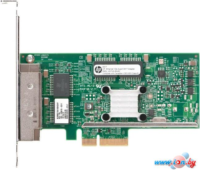 Сетевой адаптер HP Ethernet 1Gb 4-port 331T Adapter (647594-B21) в Могилёве