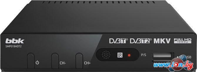 Приемник цифрового ТВ BBK SMP019HDT2 Dark Gray в Могилёве