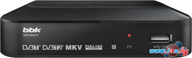 Приемник цифрового ТВ BBK SMP018HDT2 Dark Gray в Могилёве