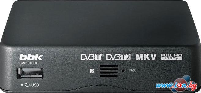 Приемник цифрового ТВ BBK SMP131HDT2 Dark Gray в Могилёве